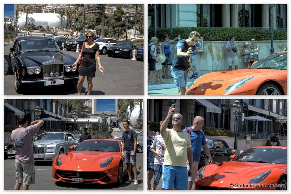 Dure auto's in Monaco
