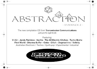 Photo: Advertisement for Abstraction event.