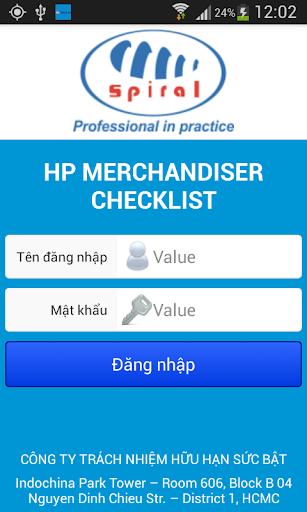 Spiral - HP Merchandiser