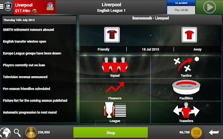 Soccer Manager 2016 1.00 screenshot 258713