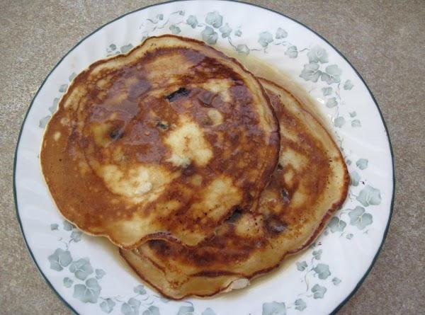 Blueberry Sour Cream Pancakes  - Cass's Recipe