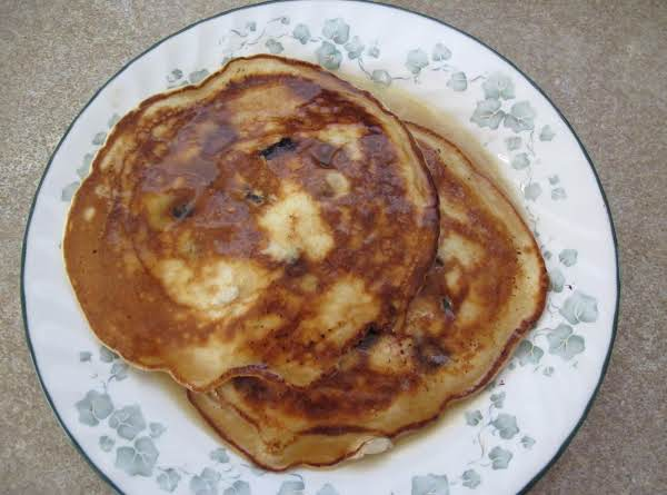 Blueberry Sour Cream Pancakes  - Cass's Recipe