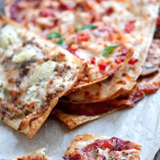 Crispy Lasagna Pizza