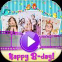 Photo Slideshow – Create Birthday Cards with Music icon