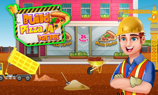 Build A Pizza Parlor: Bakery Construction Builder apktram screenshots 14