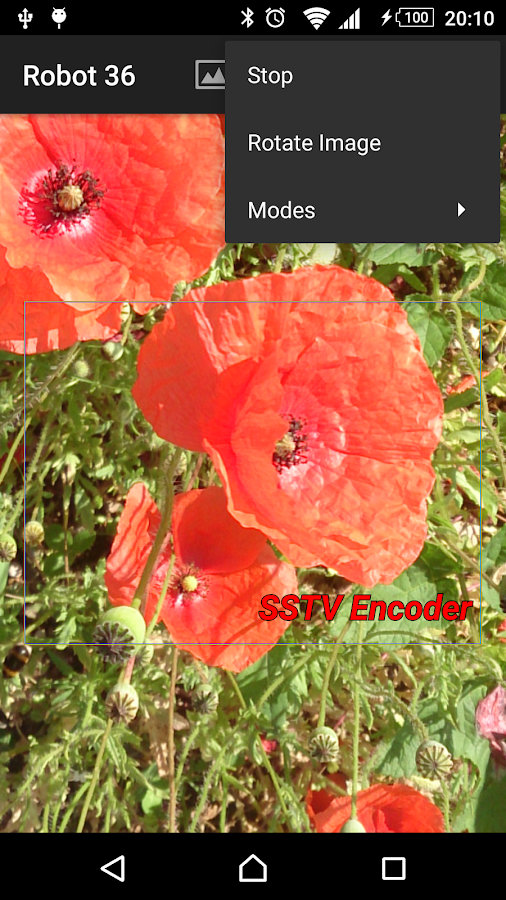 SSTV Encoder- screenshot