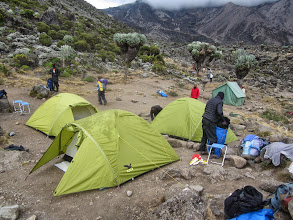 Photo: Barranco Camp 4000m