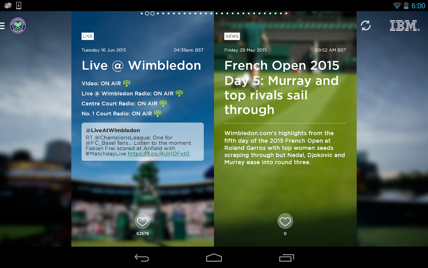 The Championships, Wimbledon - screenshot