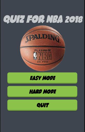 QUIZ FOR NBA  2018 1.8 screenshots 1