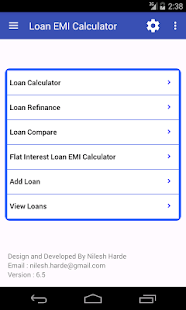 Loan EMI Calculator- screenshot thumbnail