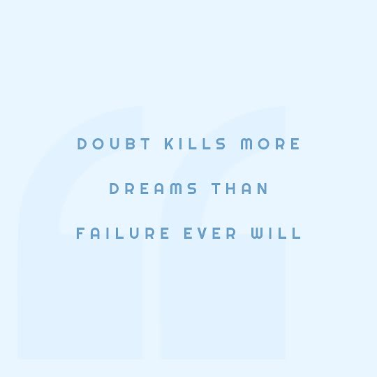 More Dreams Than Failure - Instagram Post Template