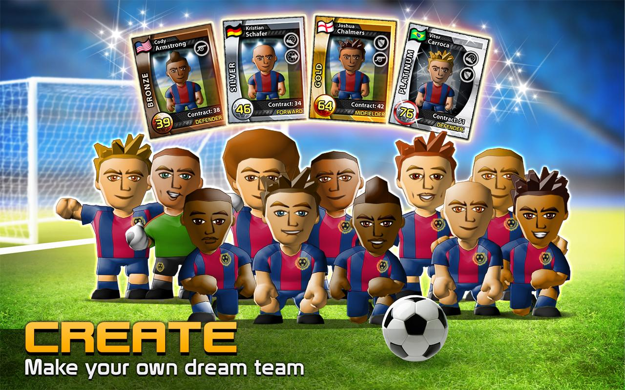 BIG WIN Soccer (football) screenshot #2