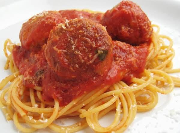 Sunday In Brooklyn Spaghetti & Meatballs