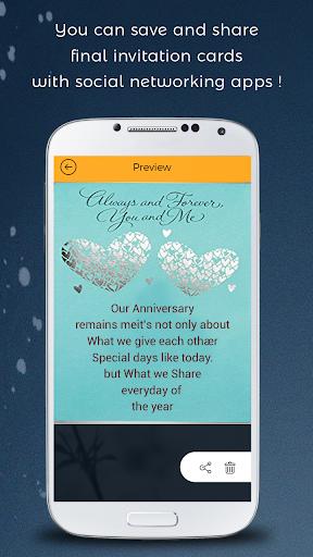 Anniversary invitation card maker apk 10 download only apk file anniversary invitation card maker stopboris Images