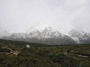 Photo: Snowing!