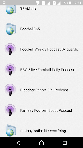 English Football Fantasy  screenshots 4