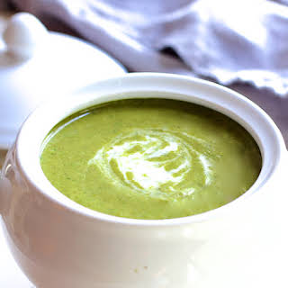 Cream of Green Vegetable Soup.