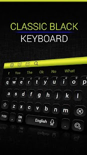 موضوع لوحة المفاتيح السوداء الكلاسيكية- صورة مصغَّرة للقطة شاشة ...