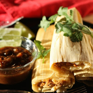 Green Chili Pork Tamales