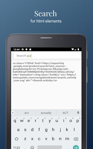 HTML/CSS Website Inspector screenshot 10