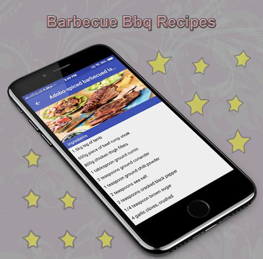 Barbecue Bbq Recipes 1.0 screenshots 2