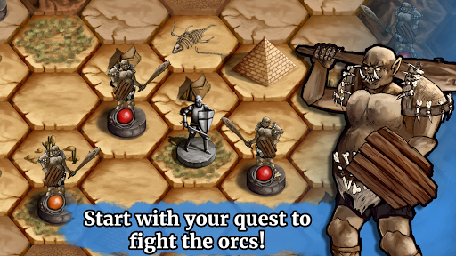 The Paladin's Story: Melee & Text RPG (Offline) apkdebit screenshots 7