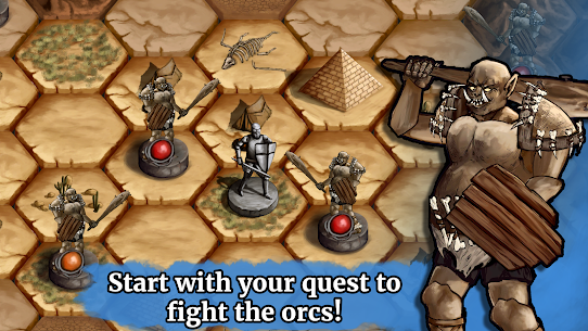The Paladin's Story: Melee & Text RPG (Offline) Mod Apk Download For Android and Iphone 7