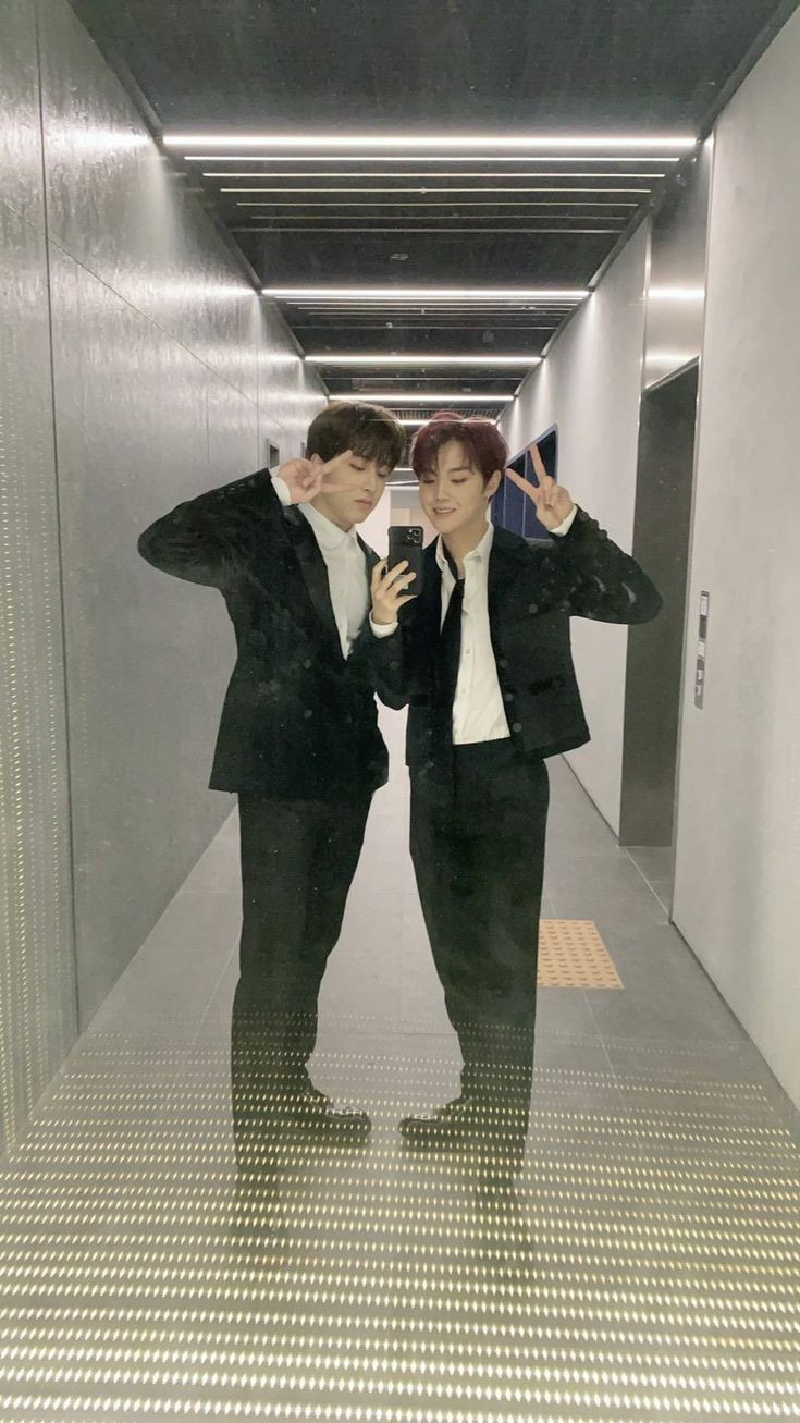 Treasure Junghwan and Doyoung