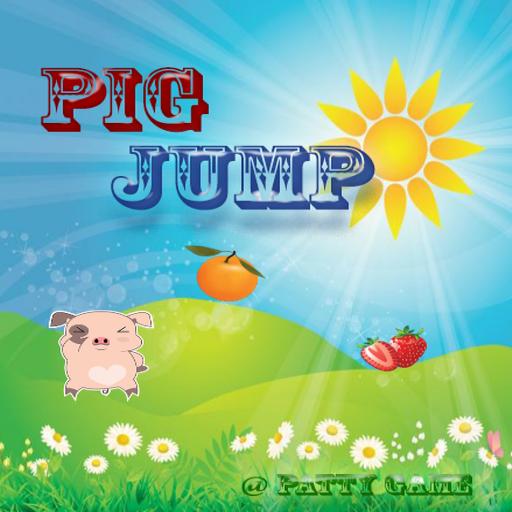 跳跃游戏猪肉 休閒 App LOGO-硬是要APP