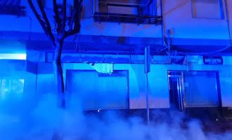 Incendian contenedores en la Calle Granada de la capital