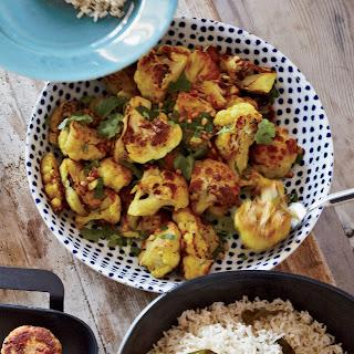 Roasted Cauliflower with Turmeric and Cumin Recipe
