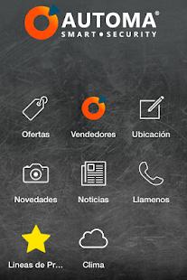 Automa App - náhled