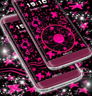 Emo růžová skříň Téma - náhled
