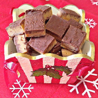 Peanut Butter Swirl Fudge - Easy Chocolate Peanut butter Fudge.