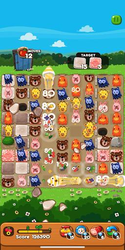 LINE PokoPoko - Play with POKOTA! Free puzzler! apkmr screenshots 3