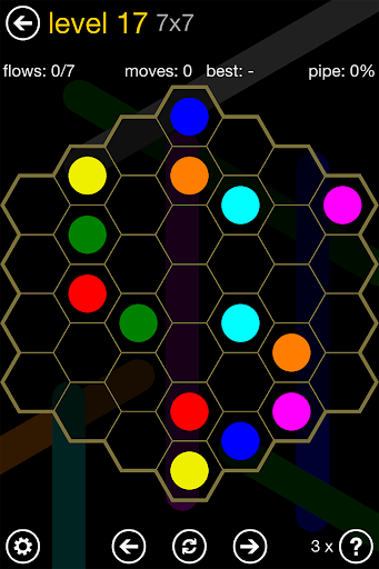 Flow Free: Hexes screenshot 9