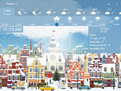 Precise Weather YoWindow- screenshot thumbnail