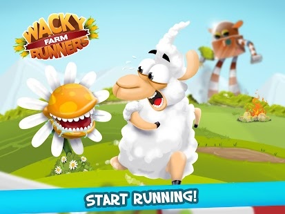 Wacky Runners - Farm- screenshot thumbnail