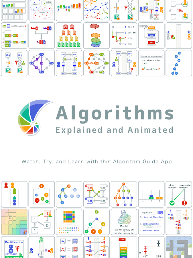 Algorithms: Explained and Animated- screenshot