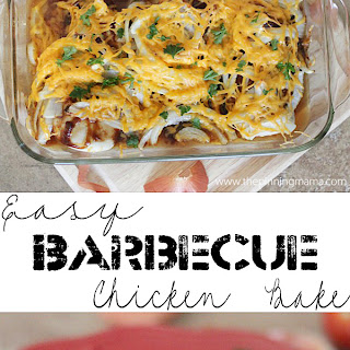 Easy Barbecue Chicken Bake.