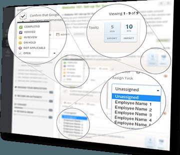implementor features screenshot