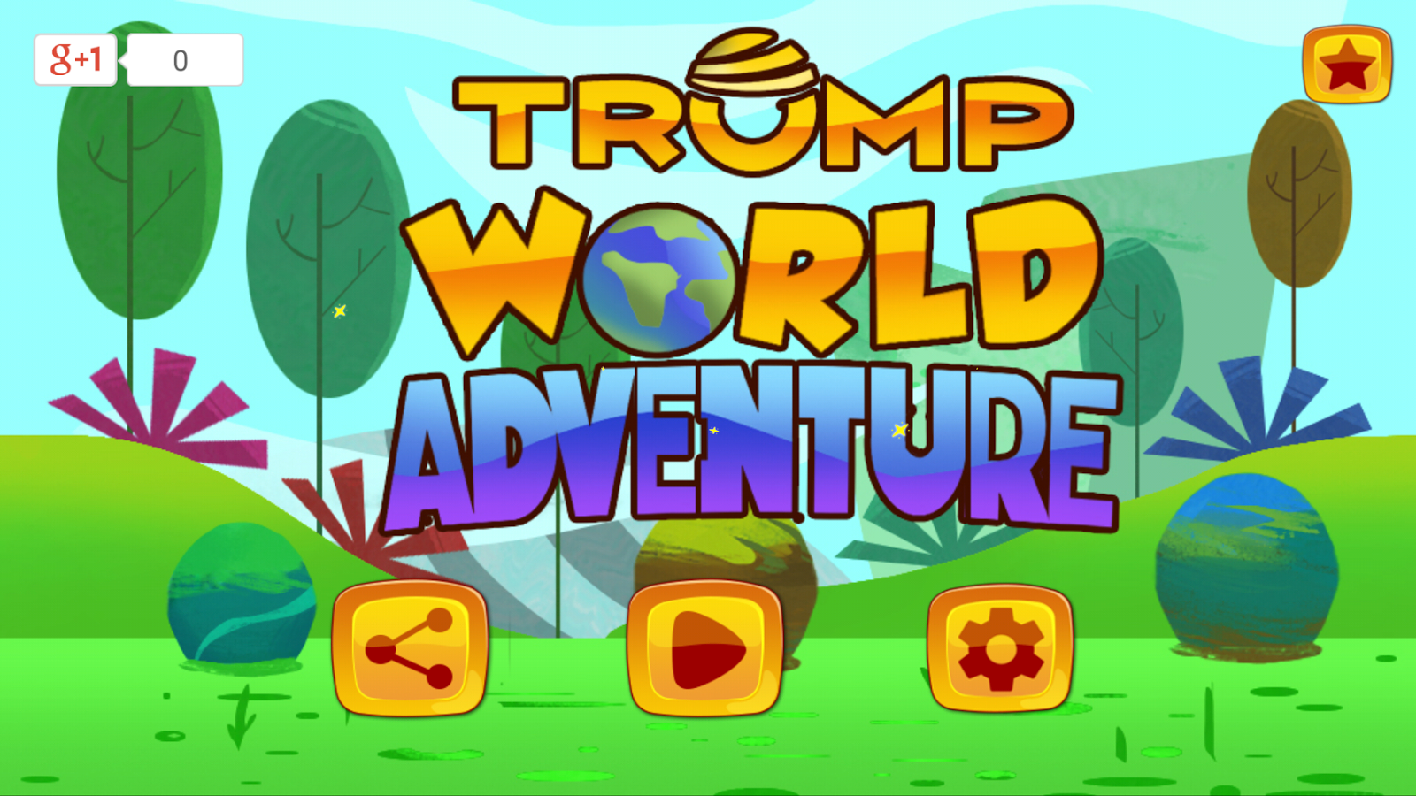 Trump World Adventure - Super Classic Games- screenshot