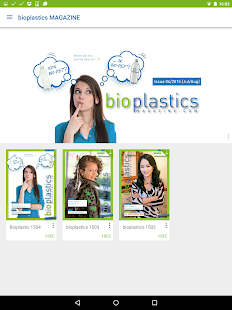 bioplastics MAGAZINE- screenshot thumbnail