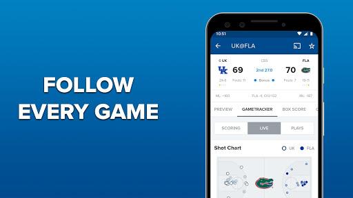 CBS Sports App - Scores, News, Stats & Watch Live 9.75 Screenshots 4