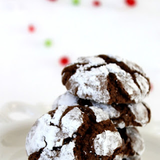 Chocolate Crinkle Cookies & Cookie Recipe Exchange