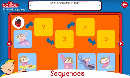Descargar Caillou learning for kids para PC ✔️ (Windows 10/8/7 o Mac) 6
