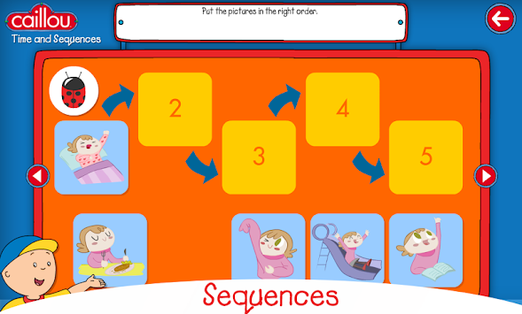 Caillou learning for kids APK screenshot thumbnail 6