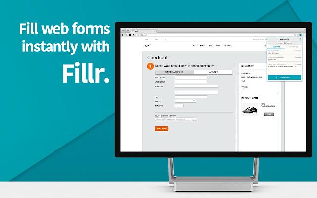 Autofill for Chrome by Fillr