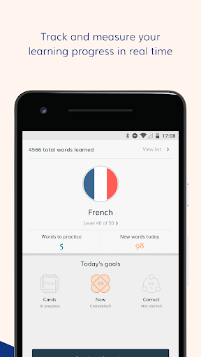 Lingvist: learn a language u2013 fast 2.22.7 screenshots 3