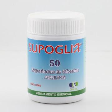 Solo Online Supoglix Supositorio Ad   Frasco x 50 Und